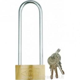 Lock mounted elongated...