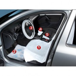 Universal covers for voters. (5 pieces) of the car interior
