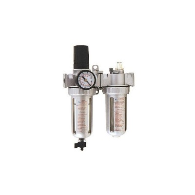 The compressor, air flow regulators, lubricators