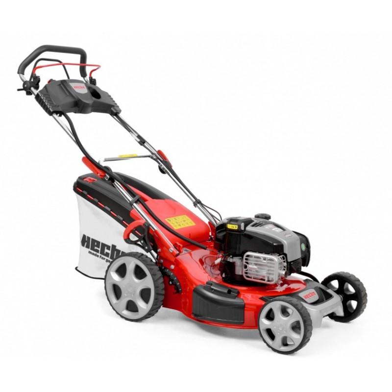 The mower, self-propelled mower, gasoline HECHT 548 INSTART 5in1