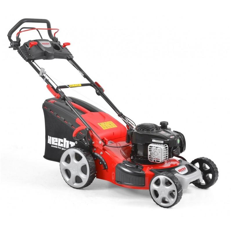 The mower, self-propelled mower, gasoline HECHT 549 SB 5in1