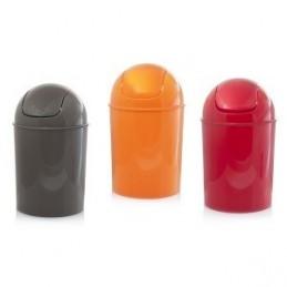 Trash plastic of various...