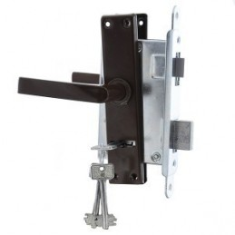 Recessed ZV9 lock with 3...