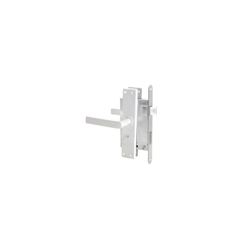 Spyna įleidžiama ZV9 su 3 raktais, balta Latvija 469Z-35804/2-DB