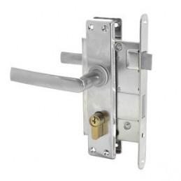 Spyna įleidžiama ZV45 su 3 raktais, žalvarinis cilindras Latvija 406Z-25802/C-43