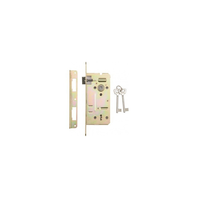 Mortice lock 90 / 50mm. Two keys VOREL Y-78501