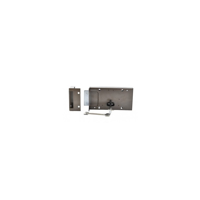 Spyna garažinė su 2 raktais, Marta, Latvija 1488D-DB
