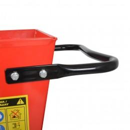 Šakų smulkintuvas benzininis 9,8kW, smulkinimo tipas-peiliai, HECHT 6421