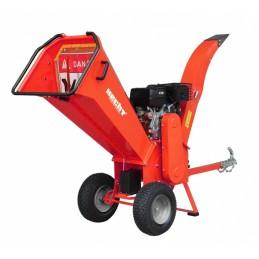 Šakų smulkintuvas benzininis 11,2kW, smulkinimo tipas-peiliai, HECHT 6642