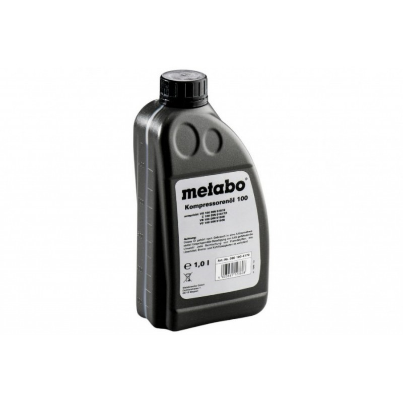 Alyva kompresoriams MOTANOL HP100, 1 litras, Metabo