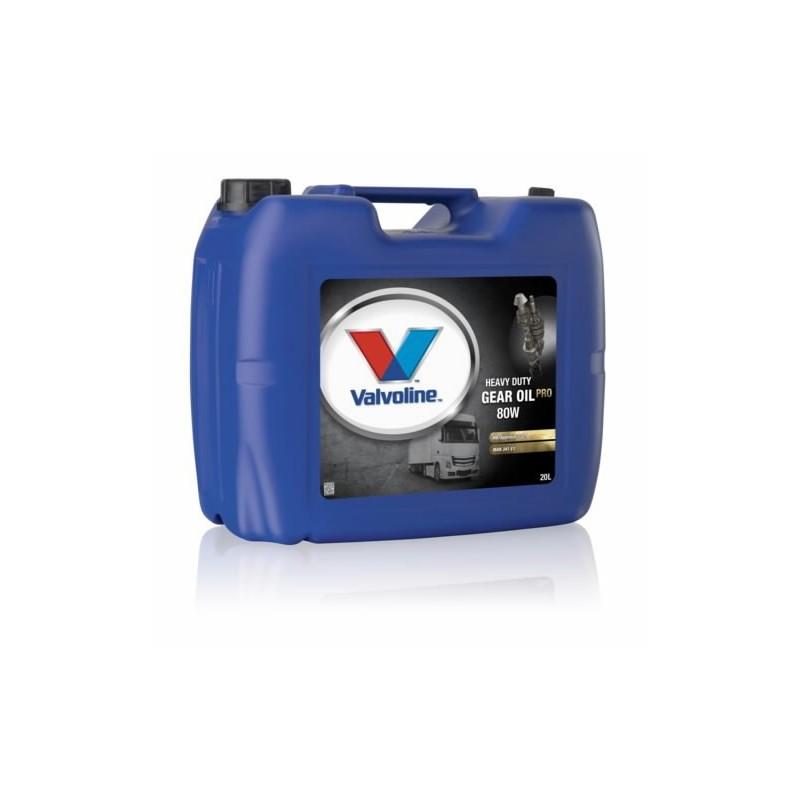 Transmisinė alyva HD GEAR OIL PRO 80W 20L, Valvoline