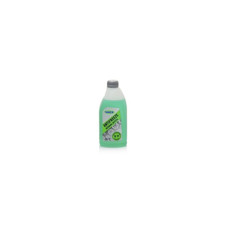 Aušinimo skystis -35°C, 1ltr. G11 žalias ANTIFREEZE, SAVEX