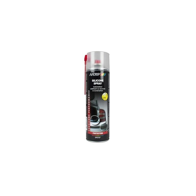 Silikono purškiklis SILICONE SPRAY 500ml aerozolis, Motip