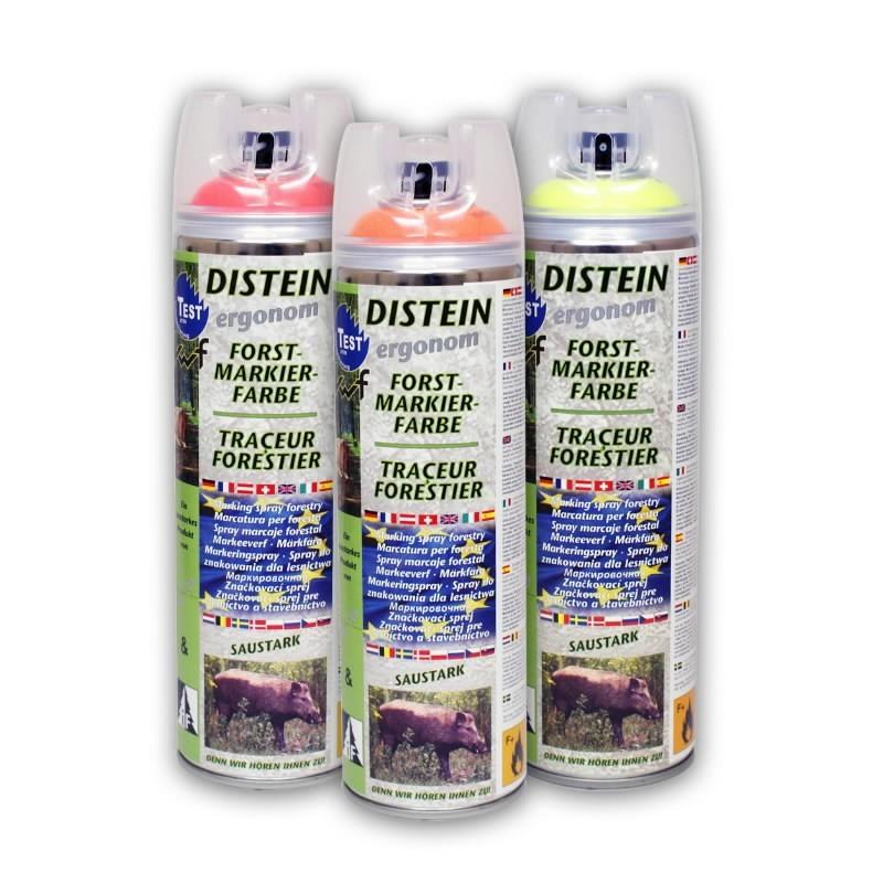 Miško žymėjimo dažai DISTEIN - Neonblue 500 ml, Motip