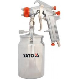 Pulverizatorius su metaliniu indu apačioje YATO YT-2346