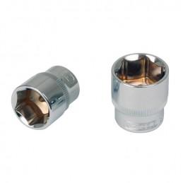 """Galvutė 3/8"""" CHROMEplus, 19mm, KS tools"""