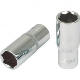 """Galvutė 3/8"""" CHROMEplus, ilga 19mm, KS tools"""