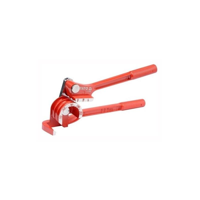 Vamzdelių 6-10mm. lankstymo replės, mini YATO YT-21840