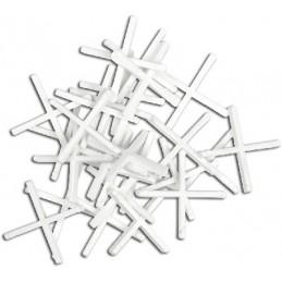Kryžiukai 4mm. 100vnt. glazūruotoms plytelėms TOPEX 16B540