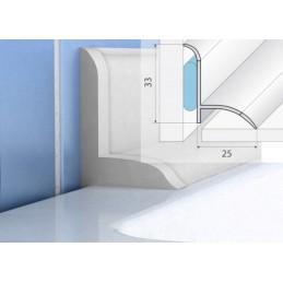 Profilio voniai aksesuarai (2užbaigimo, 2vidiniai kampai) P56