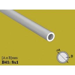 Profilis Ø8x1mm. L-100cm. apvalus aliuminis EFFECTOR B41
