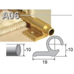 Profilis laiptams 90cm. 5vnt. su tvirtinimu, sp. auksinis EFFECTOR A06