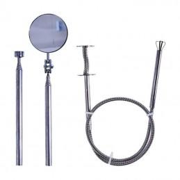 Lankstus giebtuvas, magnetinis keltuvas, teleskopinio veidrodžio rinkinys, 3vnt. MFT03