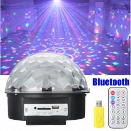 LED disko rutulys - lemputė su MP3 grotuvu ir Bluetooth