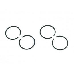 Stūmoklio žiedai 40mm. 2 kompl. (4vnt.) krūmapjovei ZKOS0020