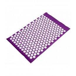 Tamsiai rožinis akupresūros masažinis kilimėlis Cosmolino