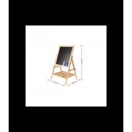 Didelė dvipusė magnetinė lenta piešimui ir žaidimams su priedais 2085