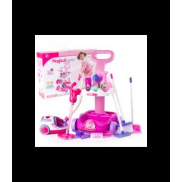 Žaislinis dulkių siurblio rinkinys T20104