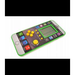 """Elektroninio žaidimo """"Tetris"""" kišeninė versija, žalia T20106"""