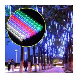 LED girlianda meteorų lietus (30cm), ilgis 5m., įvairiaspalvė