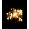 200 LED Kalėdinė girlianda burbuliukai, ilgis 17m., šilta šviesa