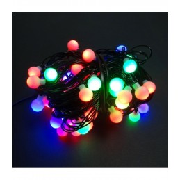 100 LED Kalėdinė girlianda burbuliukai, ilgis 11m.