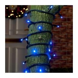 200 LED Kalėdinė lauko lempučIų girlianda 17,5m., mėlyna šviesa