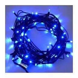 100 LED Kalėdinė lauko lempučIų girlianda 9,7m., mėlyna šviesa