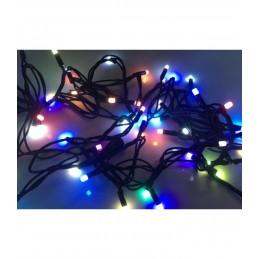100 LED Kalėdinė lauko lempučIų girlianda 9,7m., įvairiaspalvė