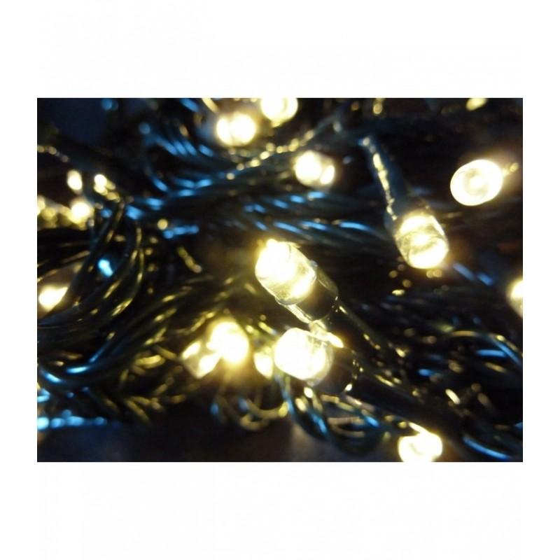 100 LED Kalėdinė lauko lempučIų girlianda 9,7m., šilta šviesa