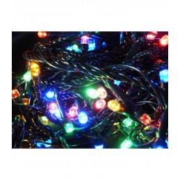 300 LED Kalėdinė lempučių girlianda 25,5m., įvairiaspalvė