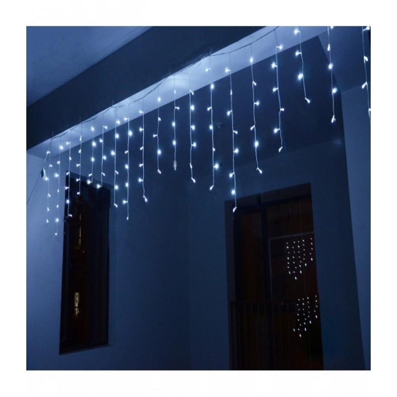"""300 LED Kalėdinė girlianda """"Varvekliai"""", ilgis 11m., mėlyna šviesa"""