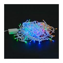 """300 LED Kalėdinė girlianda """"Varvekliai"""", ilgis 11m., įvairiaspalvė"""