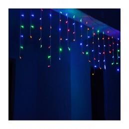 """200 LED Kalėdinė girlianda """"Varvekliai"""", ilgis 7,5m., įvairiaspalvė"""
