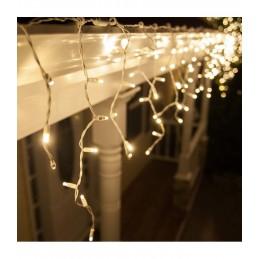 """100 LED kalėdinė girlianda """"Varvekliai"""", 3,2m., šilta šviesa"""