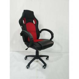Biuro kėdė VANGALOO 2720-2, juoda/raudona