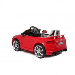 Elektromobilis vaikams AUDI TT RS 12V raudonas (WDJE1198)
