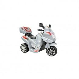 Naujausias vaikiškas sidabrinis akumuliatorinis motociklas su daiktadėže ST-C051 (WDC051)