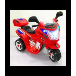 Elektrinis triratis raudonas motociklas WDBLJ8309 RED