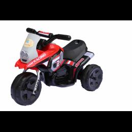 Elektrinis raudonas triratis motociklas RACING (WDHV318)